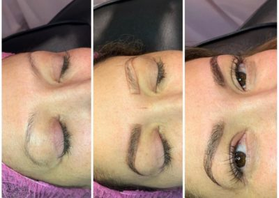 brow-sculpting